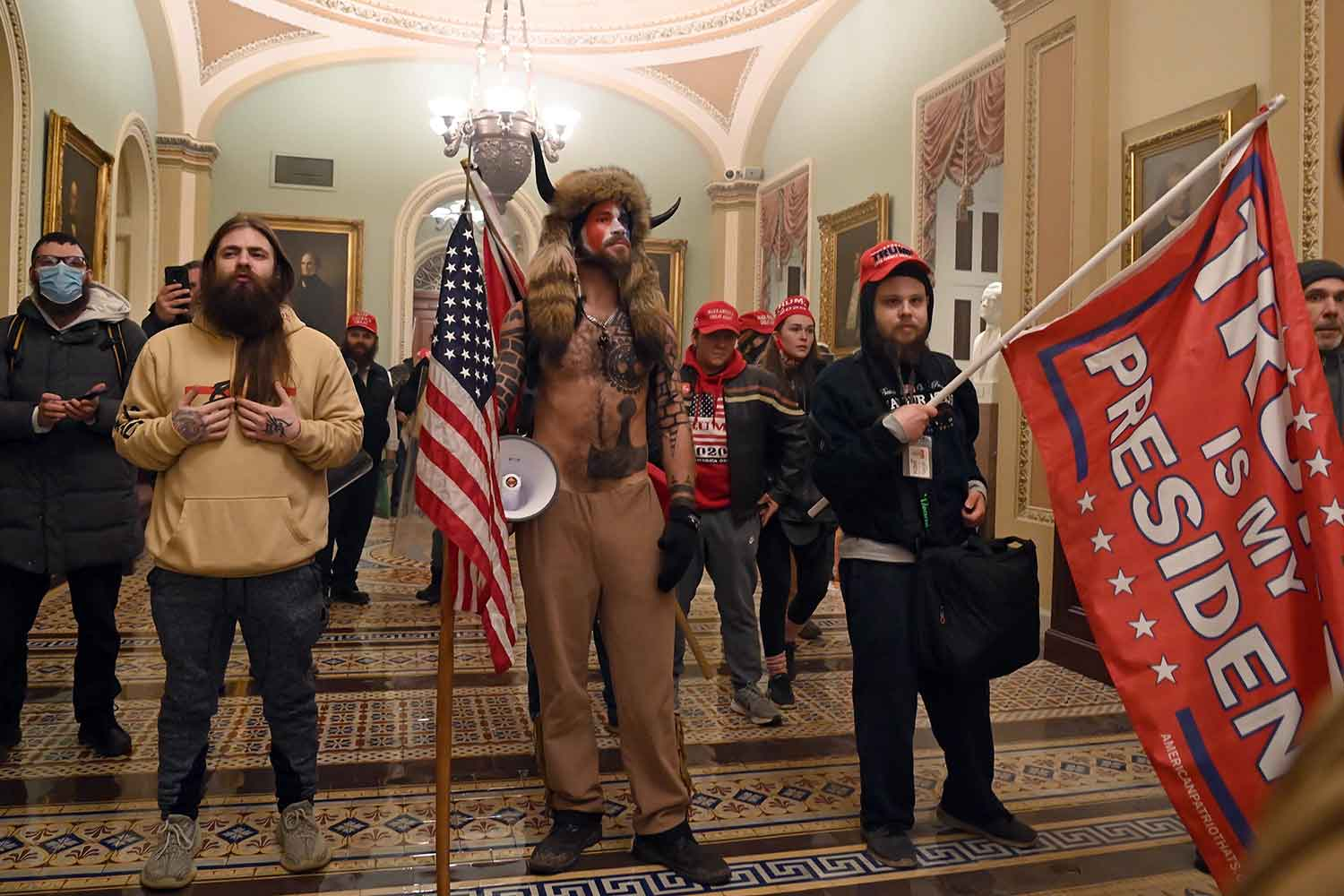 The invasion and desecration on January 6th of the seat of American democracy by a crowd incited by President Donald Trump